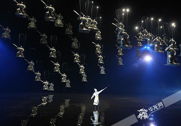 大型山水实景演艺《烽烟三国》改版升级再现三国忠义文化