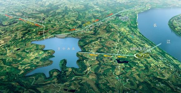 渝西水资源配置工程开工54个月总投资143.45亿元